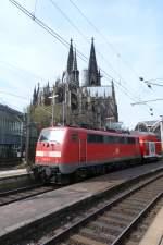 BR 111/132581/111-013-9-am-260311-in-koeln 111 013-9 am 26.03.11. in Köln Hbf.