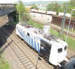 BR 139/138184/locomotion-zebra-ein-mal-anders-eine Locomotion Zebra ein Mal anders! Eine Lokomotive der Baureihe 139 am22.4.2011 in Brohl.