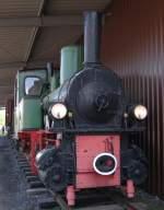 Eisenbahnmuseum Bochum-Dahlhausen/133793/die-schmalspurdampflok-74-der-ehem-meg Die Schmalspurdampflok 74 der ehem. MEG zu sehen im Eisenbahnmuseum Bochum-Dahlhausen.