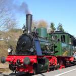 Wiehltalbahn/112444/lok-waldbroel-der-wiehltalbahn-am-6410 Lok 'Waldbröl' der Wiehltalbahn am 6.4.10 in Gerolstein.