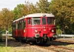 MAN Schienenbus/160778/rse-man-vt25-am-2492011-auf RSE MAN VT25 am 24.9.2011 auf der RSKE Strecke Troisdorf-Sieglar-Mondorf-Niederkassel-Lülsdorf.