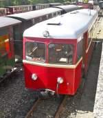 Selfkantbahn/119087/der-t102-am-11910-im-bahnhof Der T102 am 11.9.10 im Bahnhof Schierwaldenrath.